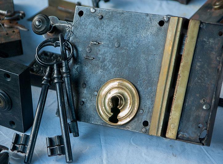 Vintage Rekey Locks